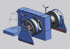 design of anchor winch and building of sturdy anchor winches at Kooiman Marine Group KMG The Netherlands