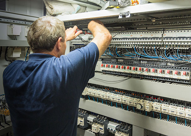 electrical service repair and maintenance  provided by Kooiman Ship Electric