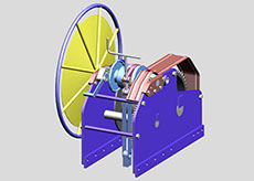 coupling winch