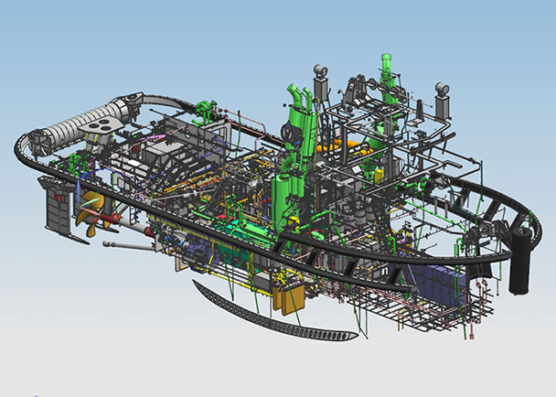 maritime design and ship design at Kooiman Engineering