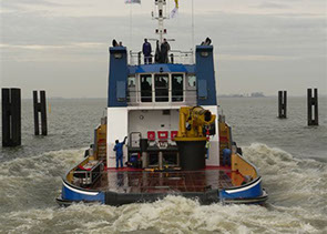 bnr 178 Andre-B twin screw chine strake hull multi-purpose anchor handling tugboat, maritime ship design and shipbuilding Kooiman Marine Group