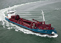 bnr 193 Reimerswaal dredging 6000 m³ hopper dredger, maritime ship design and shipbuilding by Kooiman Marine Group KMG