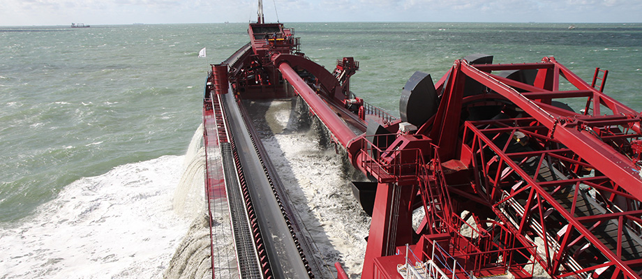dredger and dredging activities